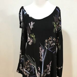 Size S. Free People tunic/mini dress. Pre-owned.